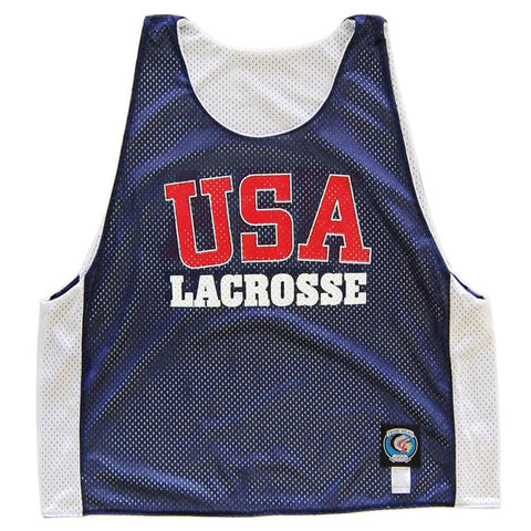 USA Lacrosse Pinnie - Graphic Mesh Lacrosse Pinnies
