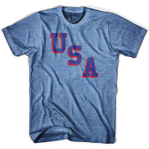 USA Miracle T-shirt - Athletic Blue / Adult Small - Basketball T-shirt
