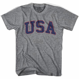 USA Vintage T-shirt - Athletic Grey / Adult X-Small - Ultras USA Soccer T-shirts