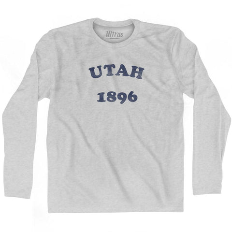 Ultras - Utah State 1896 Adult Cotton Long Sleeve Vintage T-shirt