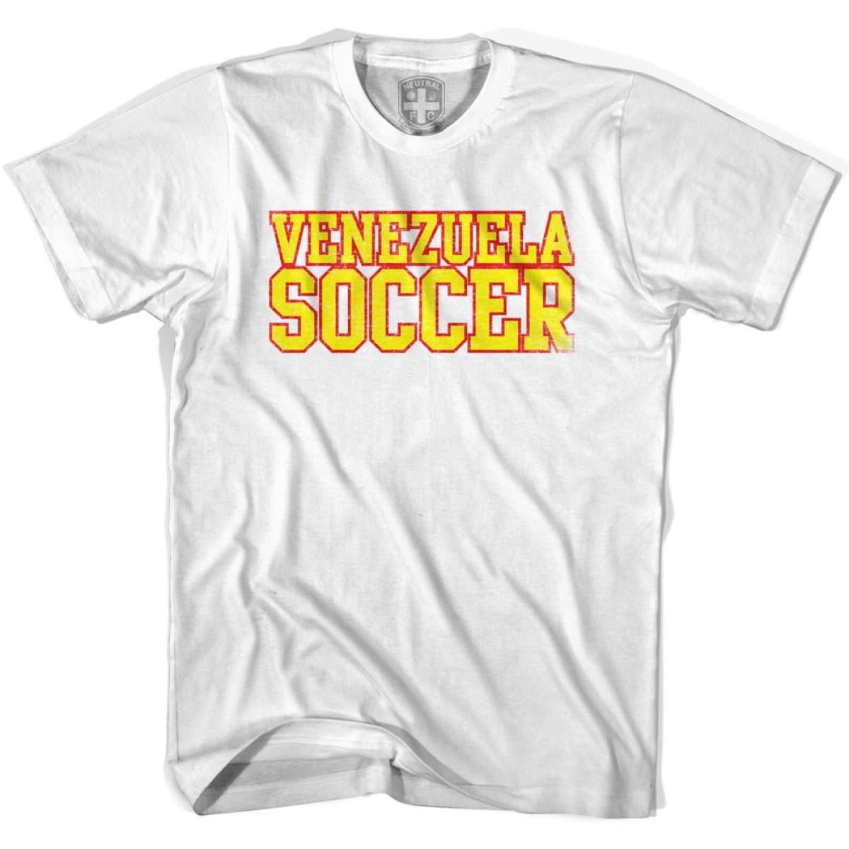 Venezuela Soccer Nations World Cup T-shirt - White / Youth X-Small - Ultras Soccer T-shirts