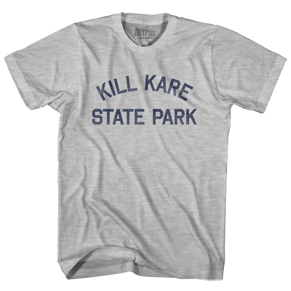 Vermont Kill Kare State Park Adult Cotton Vintage T-shirt by Ultras