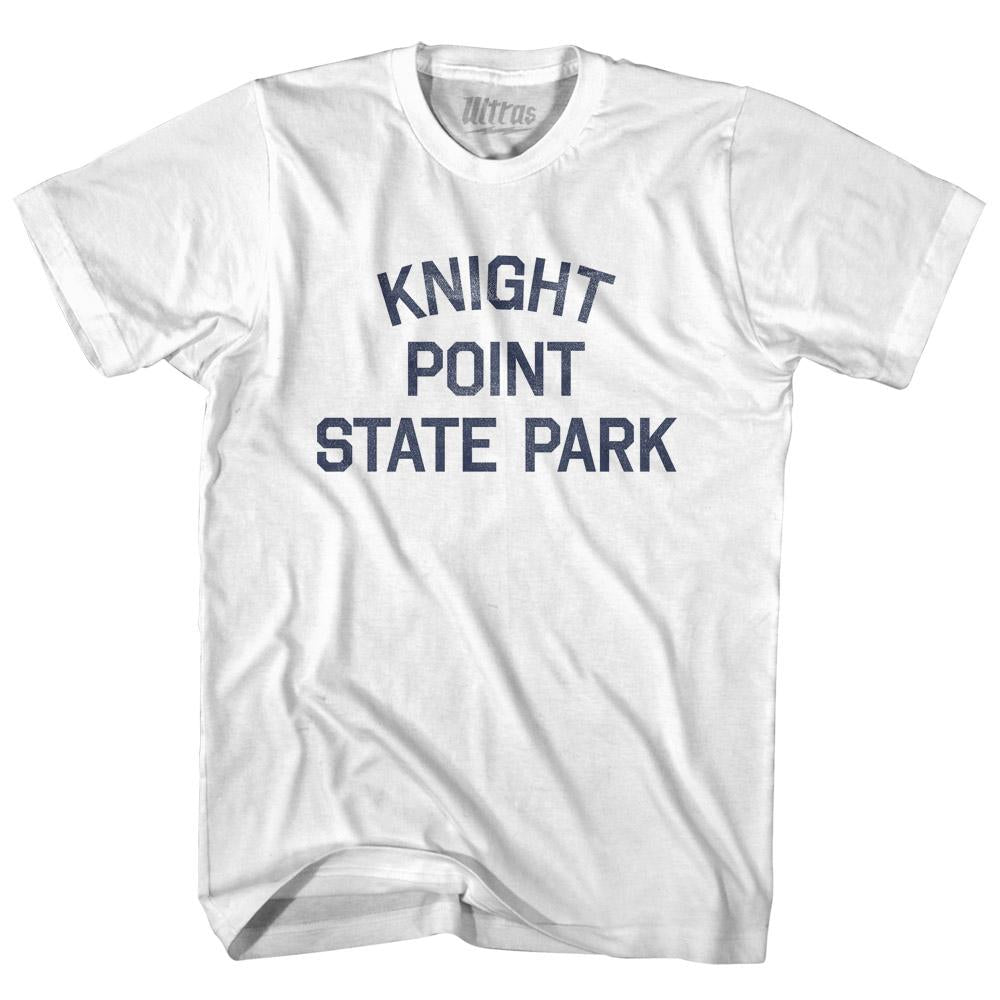 Vermont Knight Point State Park Adult Cotton Vintage T-shirt by Ultras