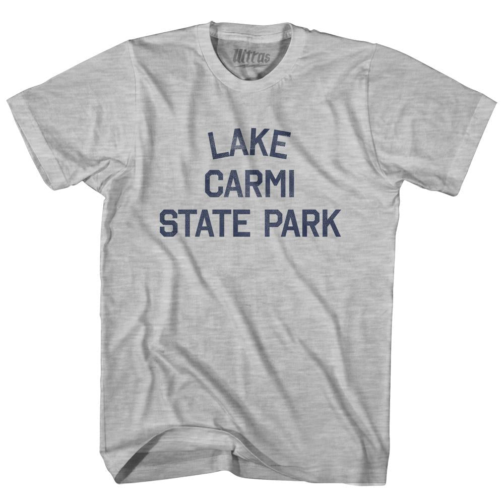 Vermont Lake Carmi State Park Adult Cotton Vintage T-shirt by Ultras