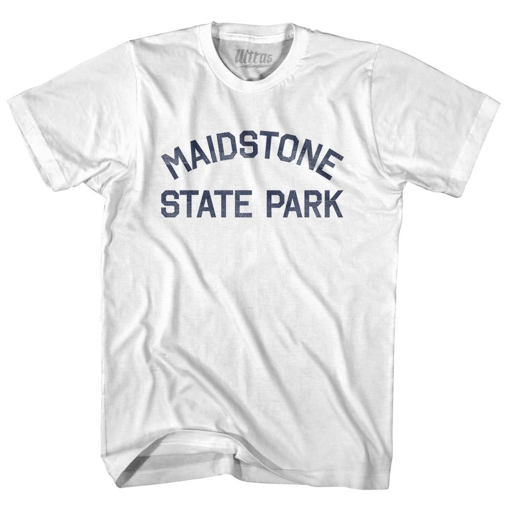 Vermont Maidstone State Park Adult Cotton Vintage T-shirt by Ultras
