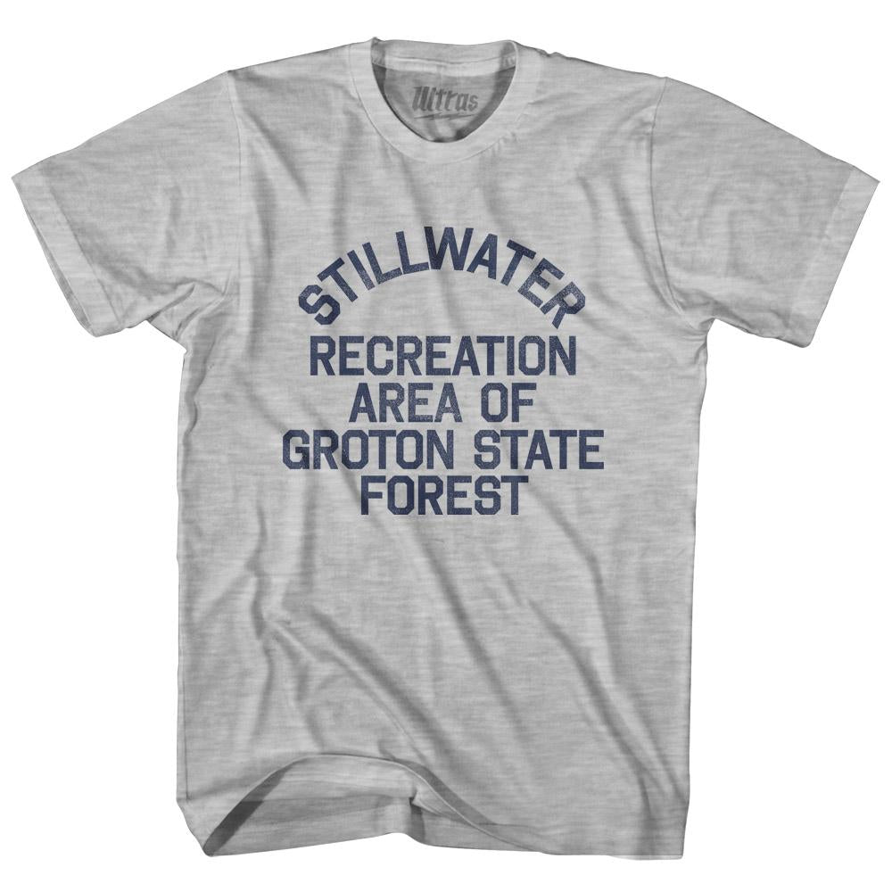 Vermont Stillwater Recreation Area of Groton State Forest Adult Cotton Vintage T-shirt by Ultras