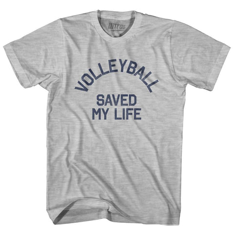 Volleyball Saved My Life Adult Cotton T-Shirt for Sale | Ultras, City T-shirt, T-shirt
