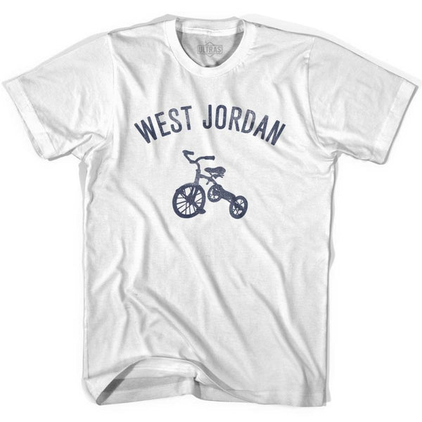 West Jordan City Tricycle Youth Cotton T-shirt - Tricycle City
