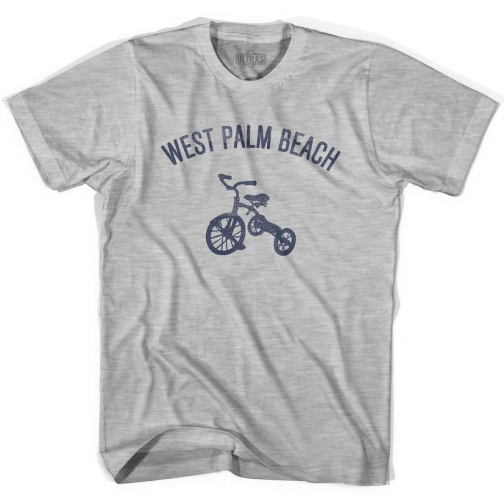 West Palm Beach City Tricycle Womens Cotton T-shirt - Tricycle City