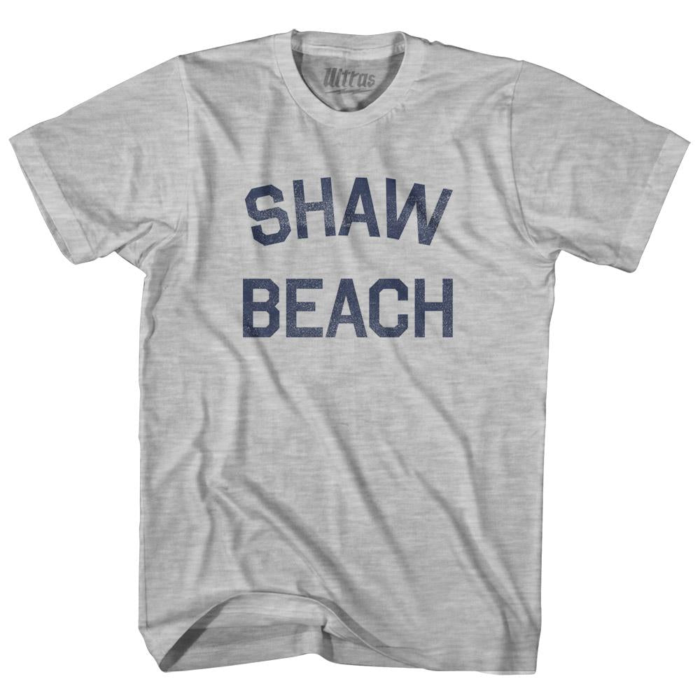 West Virginia Shaw Beach Womens Cotton Junior Cut Vintage T-shirt by Ultras