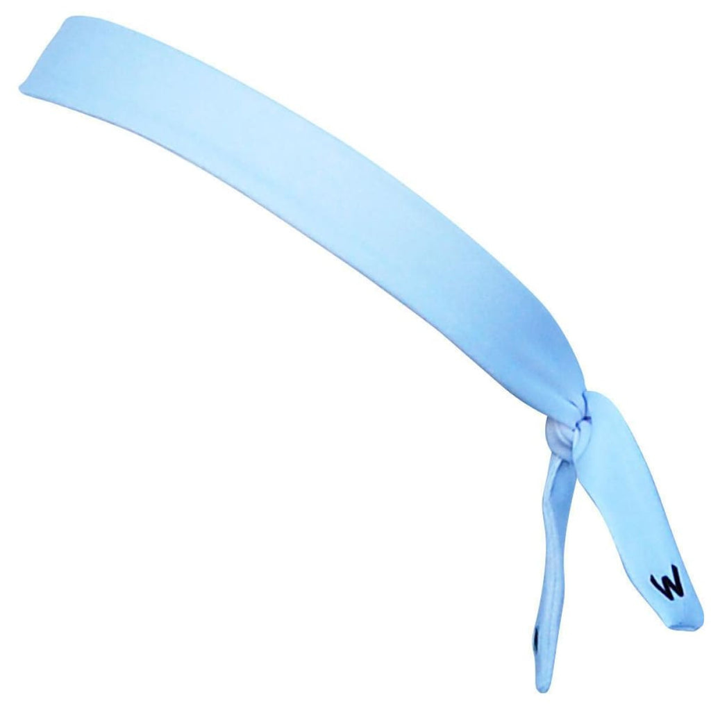 White Elastic Tie Skinny 1 Headband - White / One Size - Wicked Headbands