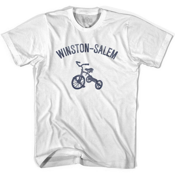 Winston-Salem City Tricycle Womens Cotton T-shirt - Tricycle City