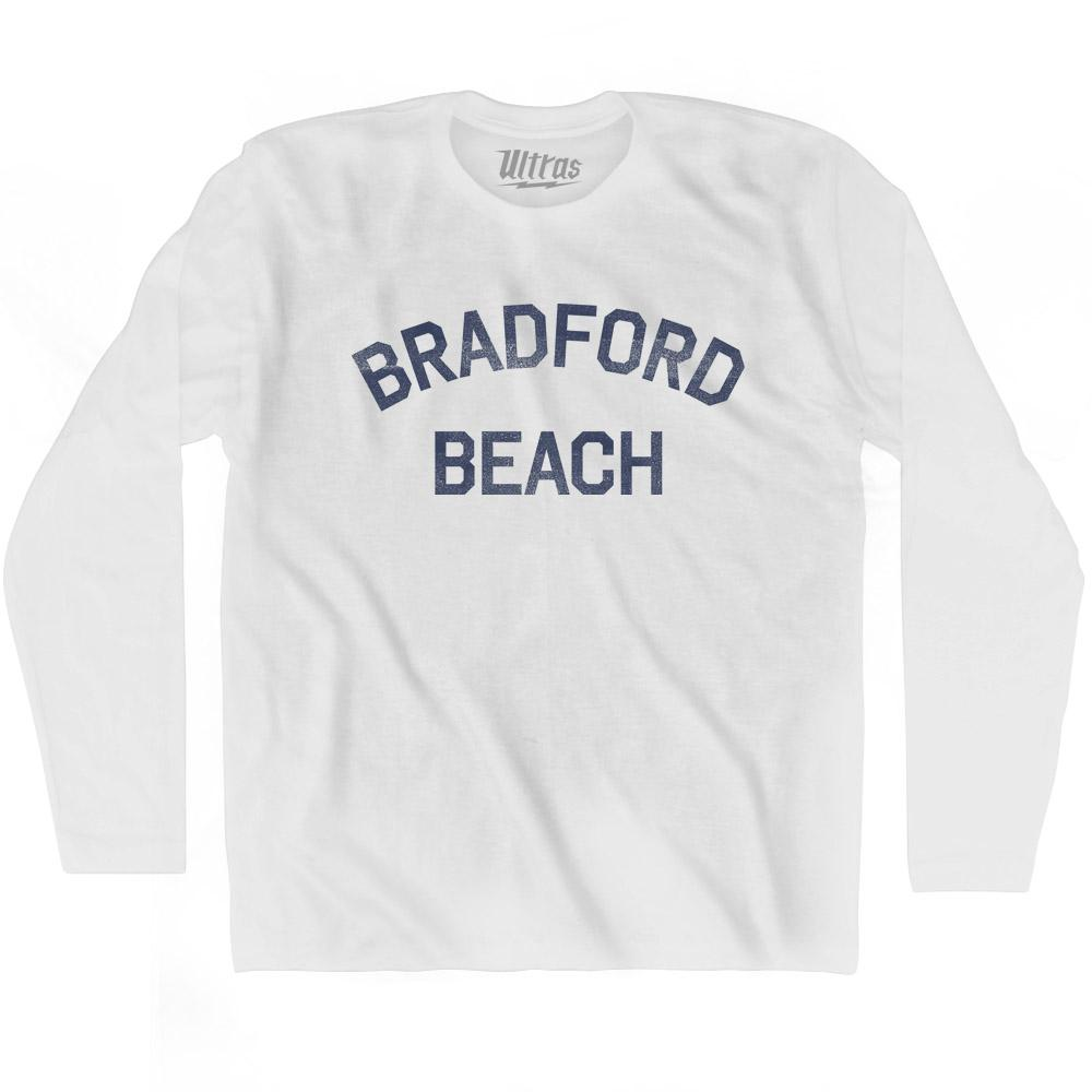 Wisconsin Bradford Beach Adult Cotton Long Sleeve Vintage T-shirt by Ultras