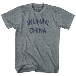 Wuhan China Adult Tri-Blend T-shirt for Sale | Ultras, City T-shirt, T-shirt