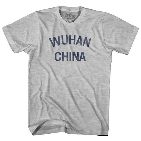 Wuhan China Youth Cotton T-shirt for Sale | Ultras, City T-shirt, T-shirt