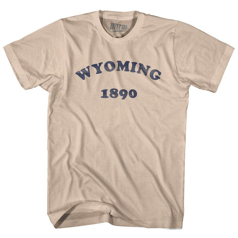 Ultras - Wyoming State 1890 Adult Cotton Vintage T-shirt