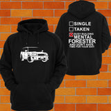 Subaru Forester SG9 Hoodie - Chaotic Customs