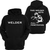WELDER Hoodie or Tshirt/Singlet - Chaotic Customs