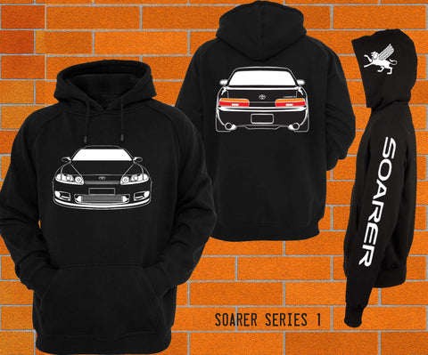 Toyota Soarer Z30 Hoodie *new style* - Chaotic Customs