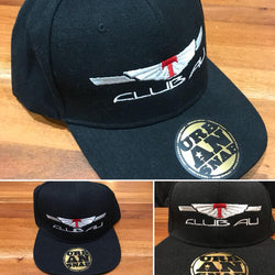 Club AU Snapback Hat - Chaotic Customs