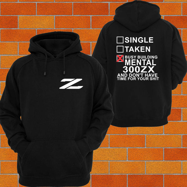 Nissan 300ZX Logo Hoodie - Chaotic Customs