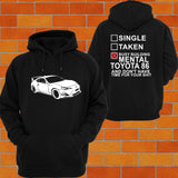 Toyota 86 Hoodie - Chaotic Customs
