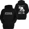 Poker Player Hoodie or Tshirt/Singlet - Chaotic Customs