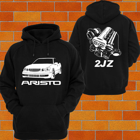 Toyota Aristo JZS161 Hoodie 2JZ - Chaotic Customs