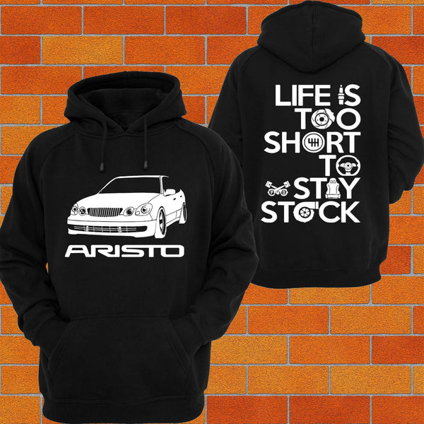 Toyota Aristo JZS161 Hoodie - Chaotic Customs