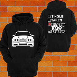 BMW e36 Hoodie - Chaotic Customs