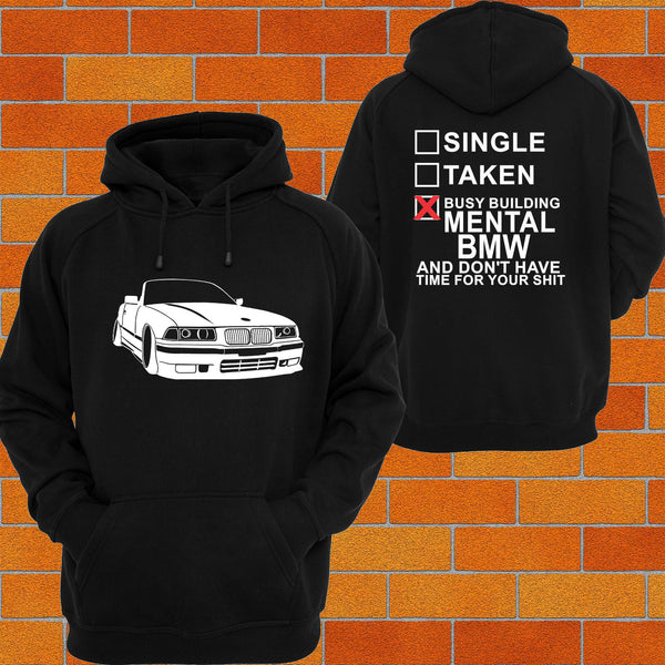 BMW e36 Convertible Hoodie - Chaotic Customs