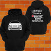BMW e39 Hoodie (front) - Chaotic Customs
