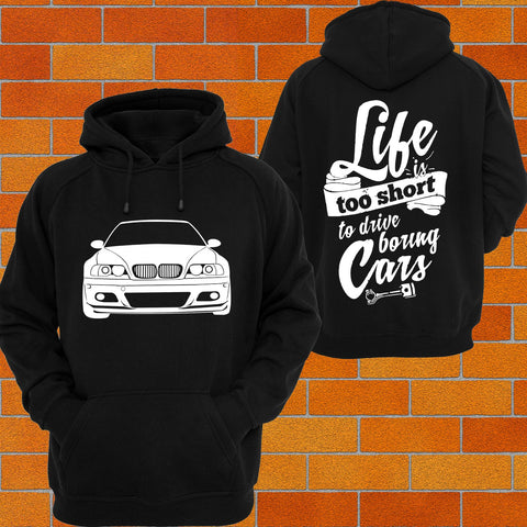 BMW e46 Hoodie - Chaotic Customs