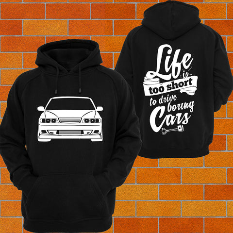 Toyota Chaser JZX100 Hoodie - Chaotic Customs