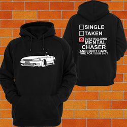 Toyota Chaser JZX90 Hoodie - Chaotic Customs