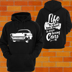 Chevy 1957 2 Door Hoodie or Tshirt/Singlet - Chaotic Customs