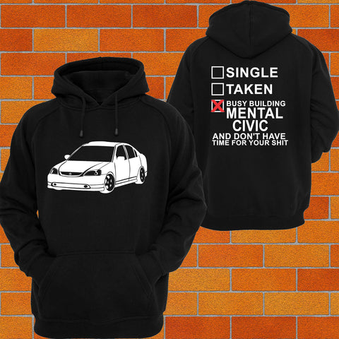 Honda Civic EU / ES / EP / EM or Tshirt/Singlet - Chaotic Customs