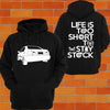 Honda Civic EG / EH / EJ (SEDAN back) Hoodie or Tshirt/Singlet - Chaotic Customs