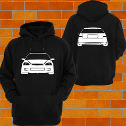 Honda Civic EK / EM (Front_ Hoodie or Tshirt/Singlet - Chaotic Customs