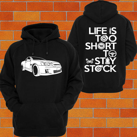 Holden VE Commodore Ute (2) Hoodie - Chaotic Customs