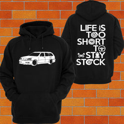 Toyota Crown JZS171 Wagon Hoodie - Chaotic Customs