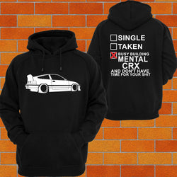 Honda CRX Hoodie or Tshirt/Singlet - Chaotic Customs