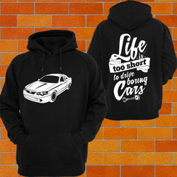 Ford BA BF Falcon Ute 2 Hoodie or Tshirt/Singlet - Chaotic Customs