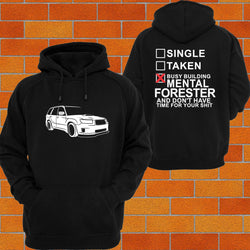 Subaru Forester SG9 (Late) Hoodie - Chaotic Customs