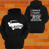 Holden HD Ute Hoodie or Tshirt/Singlet - Chaotic Customs