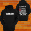 Toyota Hilux SNATCH STRAP Hoodie - Chaotic Customs