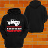 "Toyota Hilux Tray Back ""Got the Nuts"" Hoodie or Tshirt/Singlet - Chaotic Customs"