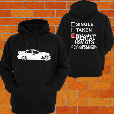 Holden HSV GTS (Side) Hoodie or Tshirt/Singlet - Chaotic Customs