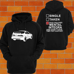 Honda Integra DC2 (Back) Hoodie or Tshirt/Singlet - Chaotic Customs