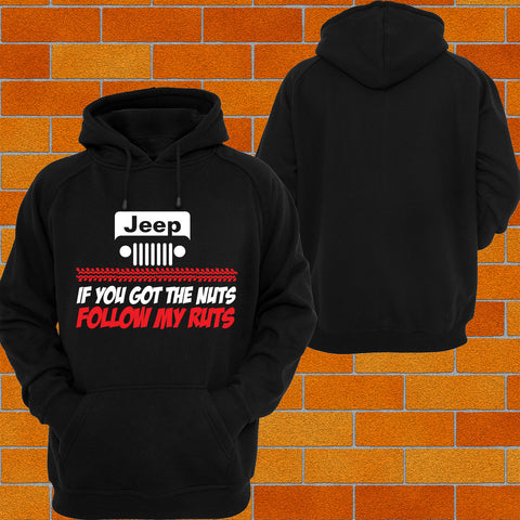 "Jeep ""Got the Nuts"" Hoodie or Tshirt/Singlet - Chaotic Customs"